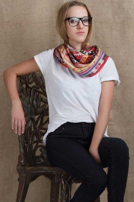 silk-scarf-habotai-silk-scarf-digital-printed-scarf-border-print-scarf-pink-scarf-yellow-scarf-ethnic-print-scarfholiday2016 handmade