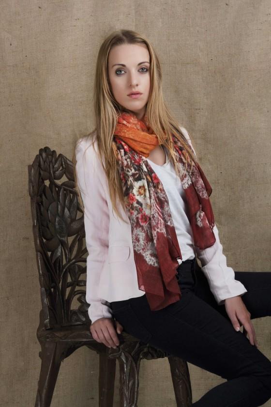 wool-scarf-woolen-scarf-silkwool-scarf--silk-scarf--border-print-scarf--lace-print-scarf-floral-scarf--orange-color-scarf--rust-color-scarf
