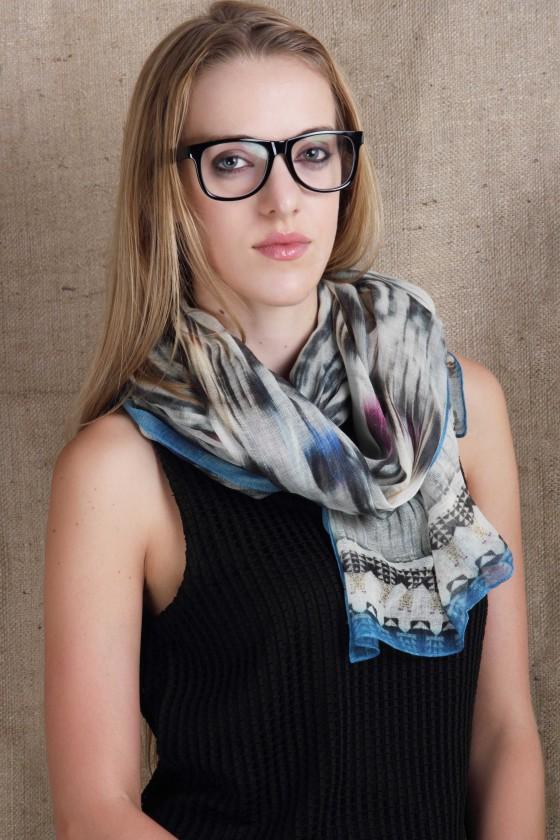woolen-scarf-silkwoolscarf-ikat-print-scarf--blue-scarf-multicolor-scarf-blog-blogger-scarf-work-wear-scarf--digital-printed-scarf