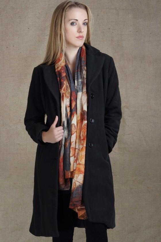 woolen-scarf-wool-scarf--silk-scarf-silk-wool-scarf-leaf-print-scarf--fall-color-scarf--fall-print