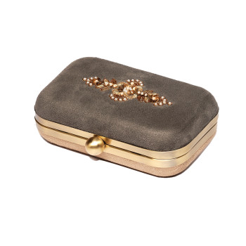 beautiful-doublecolor-color-grey-beige-suede-box-claspclosure-partyclutch-evening-embroidered-embellished-zardozi
