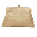 beige-puresilk-rawsilk-frameclutch-vintage-purse-eveningbag-party-wedding-sling-kisslock-embroidered-chainwork-indiancraft-handmade-new