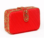 clutch-bag-purse-evening-party-red-wedding-collection-fallwinter2013-popular-trendy-hotseller-sexy-chainembroiderey-zardozi-goldwork-indianart-handmade-crafted-velvet