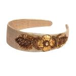 gorgeous-headband-beautiful-gotaembroidery-badla-floral-beige-rawsilk-puresilk-bestseller-freeshipping