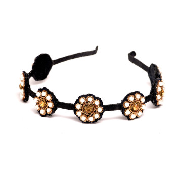 hot-exotic-floral-headband-black-pearl-embroidery-embellished-handmade-crafted-indian-motif-design