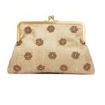 kisslock-clutch-slingbag-party-evening-puresilk-wedding-california-la-freeshipping-fashion-accessory-online-store-boutique-bestbuy-metallicframe-winter2013-beige-floral