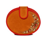 new-velvet-red-tanbrown-seuqnce-zardozi-round-clutch-purse-slingbag-party-evening-wedding-gorgeous-designer-popular-bestseller-vintage