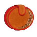 red-camelcolor-velvet-roundclutch-purse-slingbag-party-evening-trendy-fashion-accessory-designer-onlinestore-boutique-california-la-freeshipping-winter2013-sequence