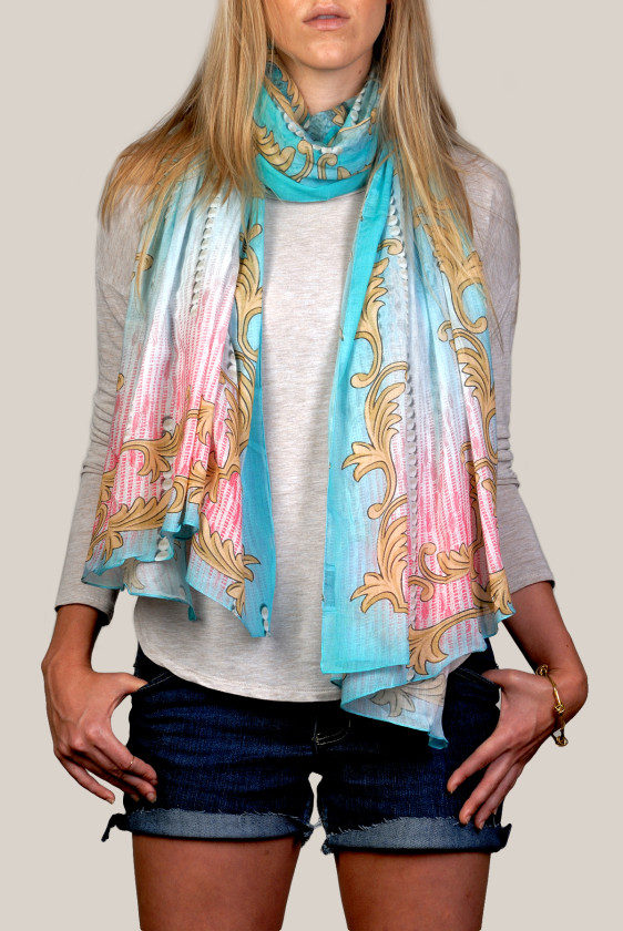 california-scarf-trendy-chic-popular-blue