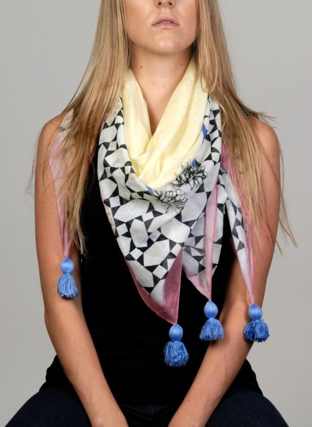 losangeles-scarf-cottonscarf-pretty-yellow