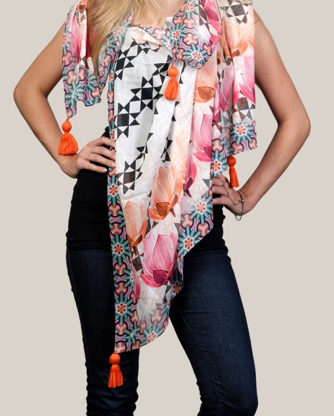 lotusprint-beautiful-tassledscarf-popular-hot