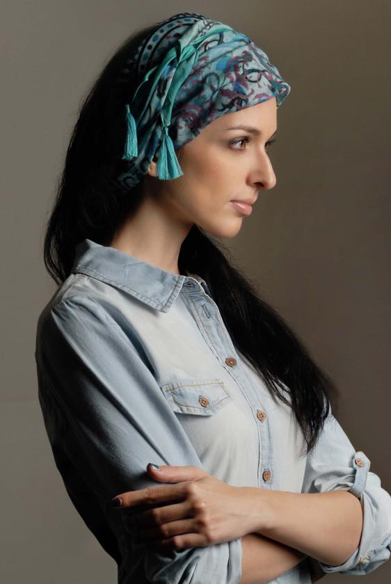 blue scarf headscarf bohemian new arrivlals pottery print jaipur