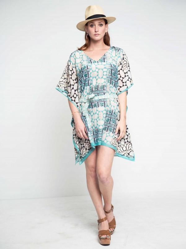 kaftan-summerdress-cottondress-bluedress-swimcoverup-resortwear-beachdress-maati
